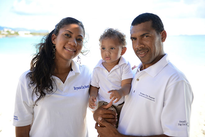 Ronnie Bryan and Family