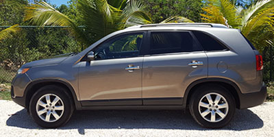 Anguilla Car Rental | Bryans Car Rentals | Large SUV