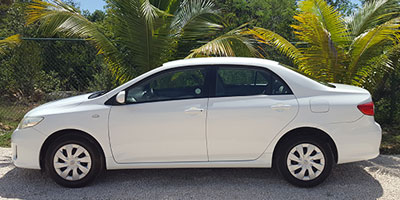 Anguilla Car Rental | Bryans Car Rentals | Large Sedan
