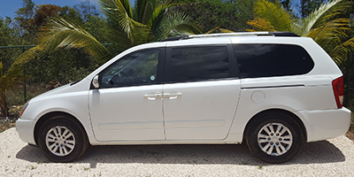 Anguilla Car Rental | Bryans Car Rentals | Minivan